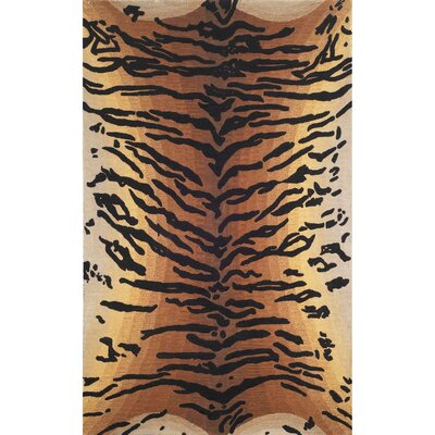Bowdens Tiger Rug Rug Size: Rectangle 8 x 10