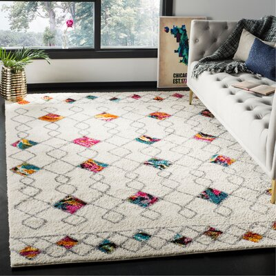 Breanna Shag Area Rug Rug Size: Rectangle 67 x 92