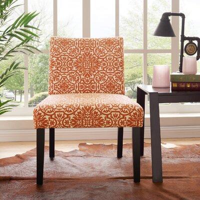 Marcelo Side Chair Upholstery: Orange