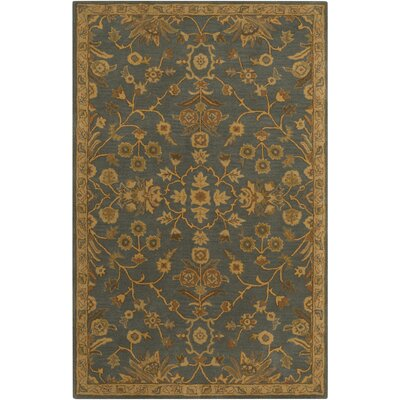 Topaz Charcoal/Tan Area Rug Rug Size: Rectangle 9 x 12