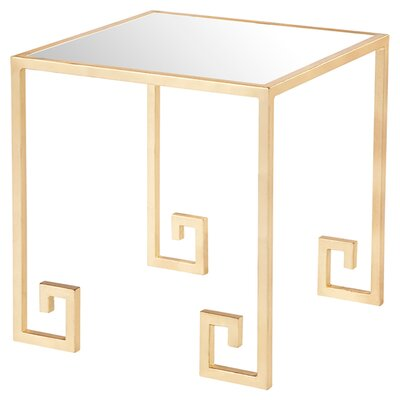 Caldwell Mirrored Side Table