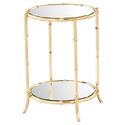 Cardenas Mirrored Side Table