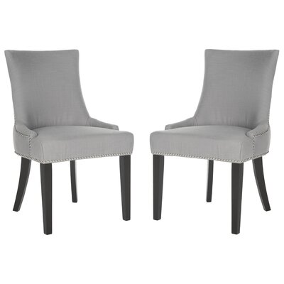 Carraway Upholstered Dining Chair Upholstery Color: Fabric Artic Grey