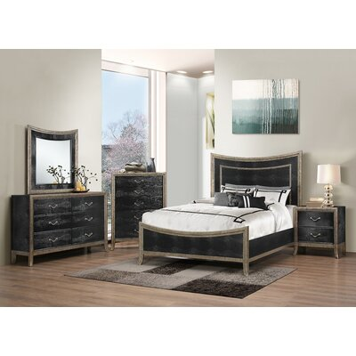 Landis Panel Customizable Bedroom Set by Simmons Casegoods