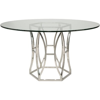 Marcia Metal Base Dining Table