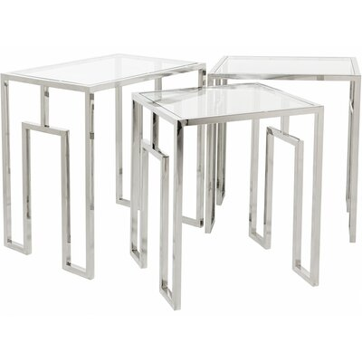 Reynaldo 3 Piece Nesting Tables WRLO5682 40709867