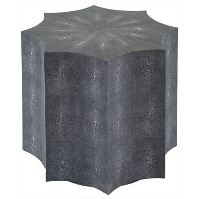 Petersen End Table Color: Black