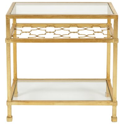 Marcia Rectangular End Table
