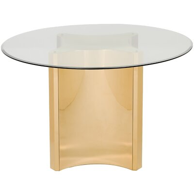 Marcia Glass Top Dining Table