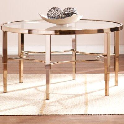 Metallic Gold Coffee Table