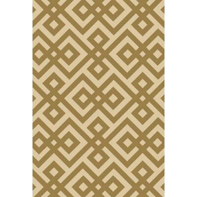 Marina Brown Hand-Hooked Brown Area Rug Rug Size: Rectangle 9 x 13
