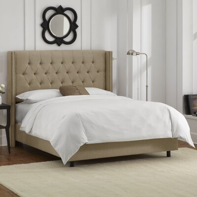 Maher Upholstered Panel Bed Size: Queen, Upholstery: Sandstone