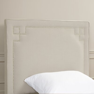 Rosenberg Upholstered Panel Headboard Size: Twin