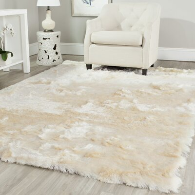 Oakdene Ivory Area Rug Rug Size: Rectangle 10 x 14