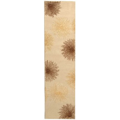 Thornbury Hand-Tufted Beige Area Rug Rug Size: Runner 26 x 14