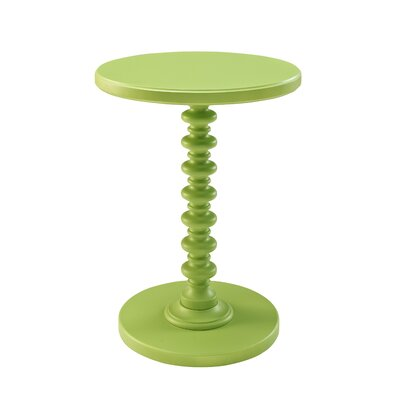 Adames End Table Finish: Green