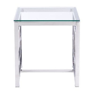 Rohrbach End Table Color: Stainless Steel