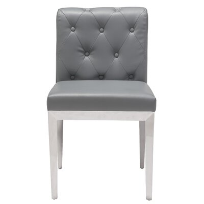 Roddy Parsons Chair Upholstery: Gray