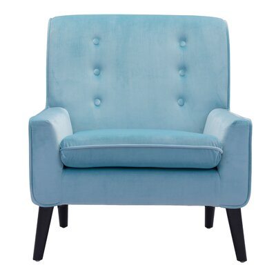 Roddy Armchair Color: Aqua