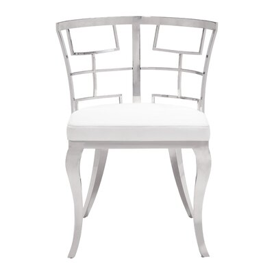 Roddy Side Chair Upholstery: White
