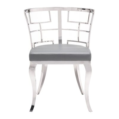 Roddy Side Chair Upholstery: Gray