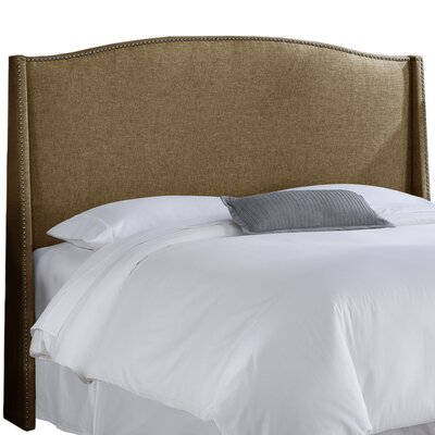 Munro Wingback Headboard Size: California King, Upholstery: Groupie Praline