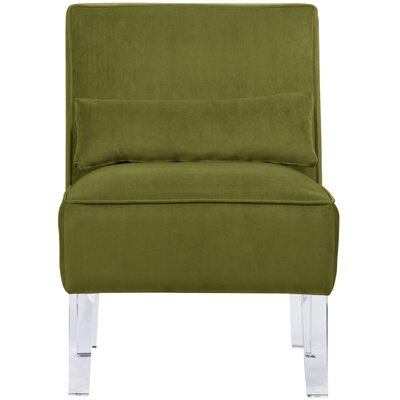 Ralston Slipper Chair Fabric: Apple Green