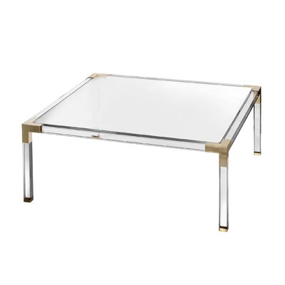 Fleisher Coffee Table Size: 16.5 H x 40 W x 40 D