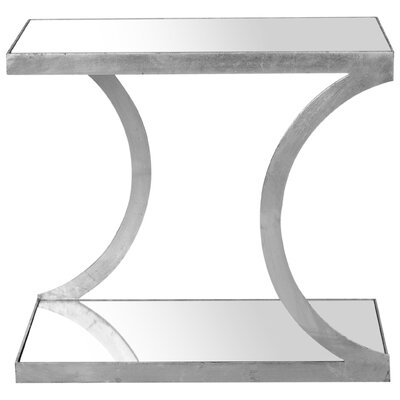 Augusta End Table Color: Silver