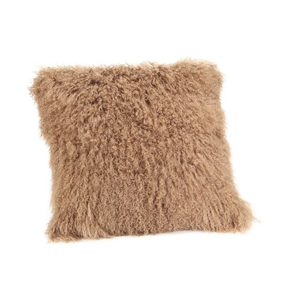 Reiser Polyester Throw Pillow Color: Natural