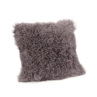 Reiser Polyester Throw Pillow Color: Light Gray