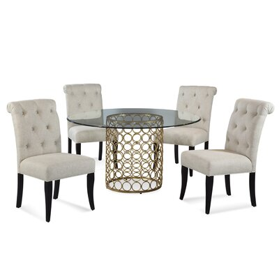 Rockhampton 5 Piece Round Dining Set