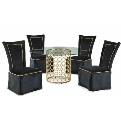 Clayton 5 Piece Dining Set