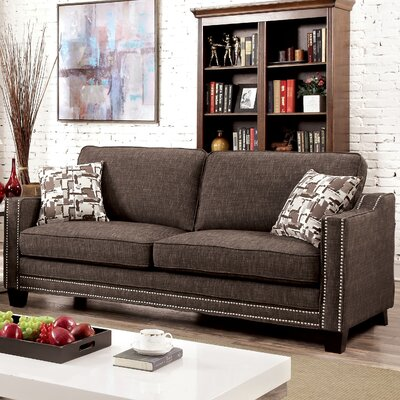 Follmer Sofa Upholstery: Brown