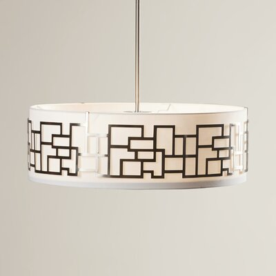 Brockman 4-Light Drum Pendant