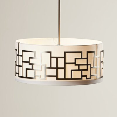Brockman 3-Light Drum Pendant