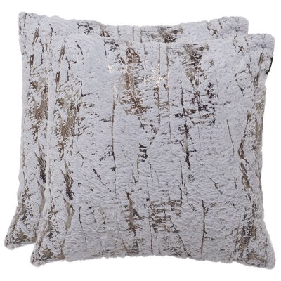 Fontanne Misfit Throw Pillow Size: 20 H x 20 W x 2.5 D