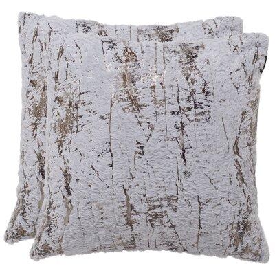 Fontanne Misfit Throw Pillow Size: 24 H x 24 W x 2.5 D