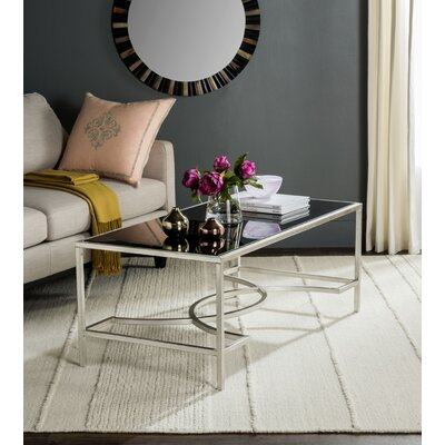 Audington Coffee Table Finish: Silver