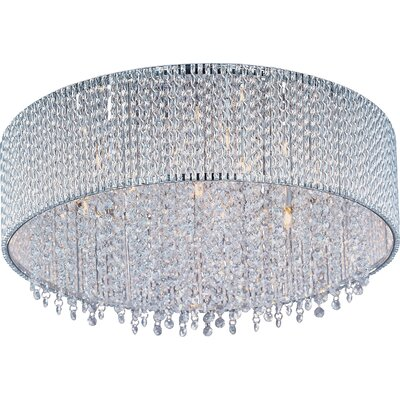 Benziger 7-Light Flush Mount