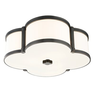 Roselli 3-Light Flush Mount Finish: Old Bronze