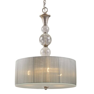 Dujardin 3-Light Drum Pendant