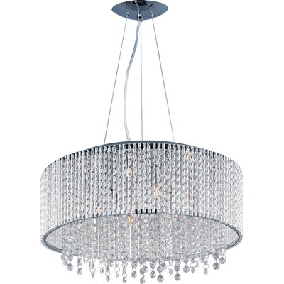 Benziger 10-Light Drum Pendant