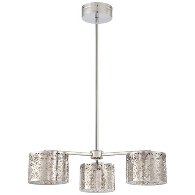 Brooklington 3-Light Drum Chandelier