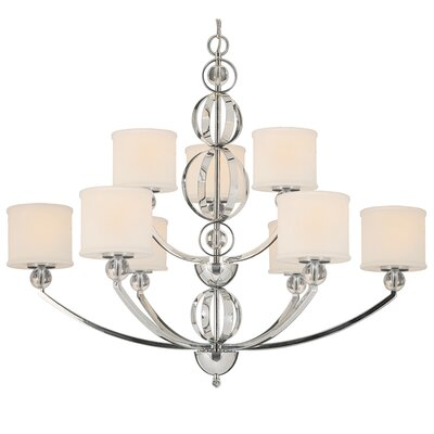 Douglas 9-Light Drum Chandelier