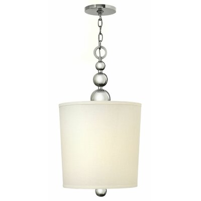 Shaw 4-Light Drum Pendant Finish: Polished Nickel