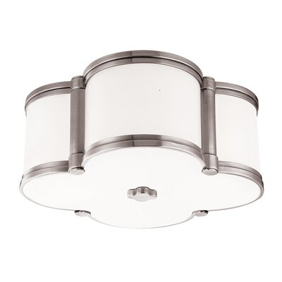 Roselli 2-Light Flush Mount Finish: Polished Nickel