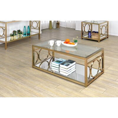 Frederika 2 Piece Coffee Table Set