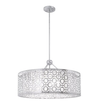 Westphal 1-Light Drum Pendant Size: 22.5