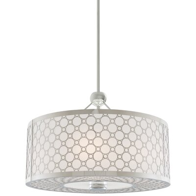 Dunlap 1-Light Drum Pendant Size: 22.5